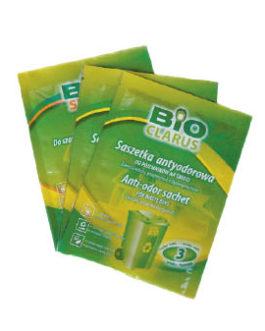 Saszetka antyodorowa do śmietników- opakowanie 20 saszetek