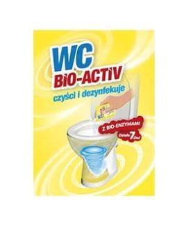 WC BIO ACTIVE – saszetka do toalety – 20 saszetek
