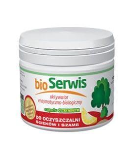 Aquafor Bioserwis cytryna – udrażniacz do rur i kanalizacji 400g