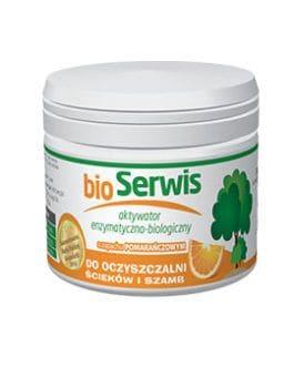 Aquafor Bioserwis pomarańcza - do oczyszczalni ścieków i szamb  250g ( wystarcza na 6 m-cy)