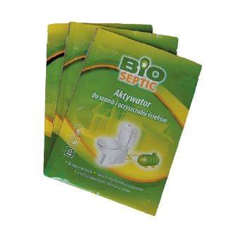 Bioseptic zaszetka - Bioseptic - preparat do szamba - 20 saszetek