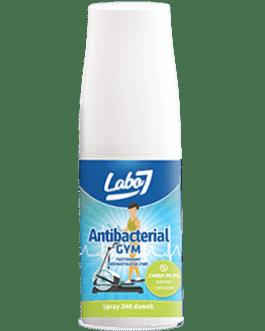 Labo7 GYM 40ml  antybakteryjny płyn do czyszczenia sprzętu sportowego