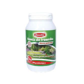 Nawoz4 - Aquafor Nawóz do trawnika gęsta darń – długodziałajacy 1,5 kg