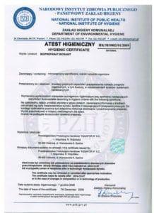 atest biosanit 218x300 - Certyfikaty