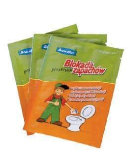 Aquafor Neutralizator Przykrych Zapachów -Bakterie Enzymy do WC Toalety - 20 saszetek
