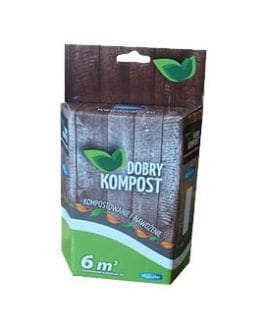 Aquafor Dobry Kompost - preparat do kompostowania - 250g