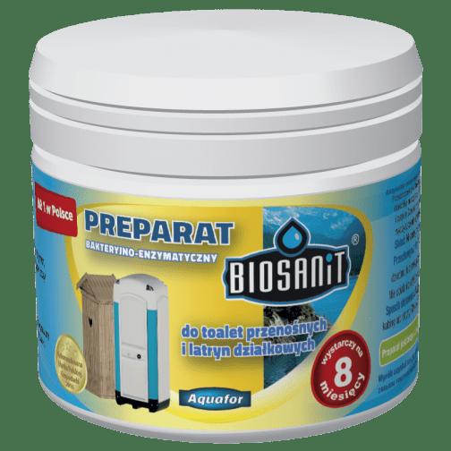 Biosanit 3D Preparat 504x504 - Biosanit- do toalet przenośnych i latryn działkowych 250g