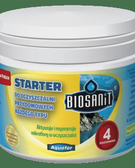 Biosanit- Starter do oczyszczalni przydomowych 200g ( 4 dawki )