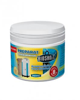 Biosanit- Bakterie do toalet przenośnych i latryn działkowych 250g