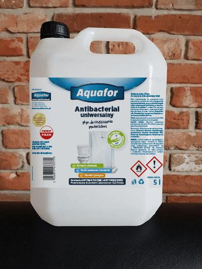 Kanister 5L N wiz antibacterial - Antybakteryjny płyn do dezynfekcji powierzchni 5l