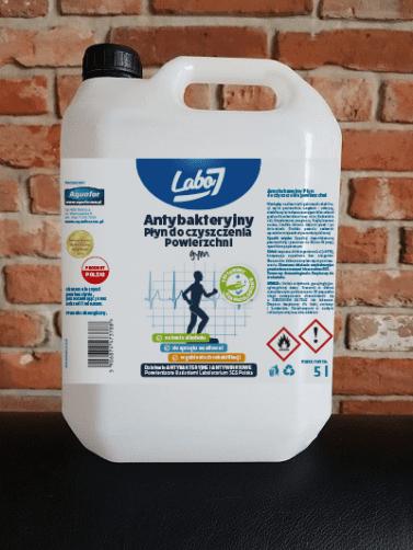 Kanister 5L N wiz labo7 e1585230007885 - Antybakteryjny płyn do dezynfekcji powierzchni 5l
