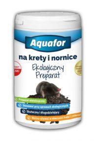 Aquafor Ekologiczny Preparat- Odstraszacz na Krety i Nornice 400g
