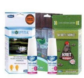 Zestaw Odstraszacz na Krety i Nornice 200g+ Preparat Bakterie do Kompostowania 250 + Bakterie preparat do oczek wodnych 200g+ gratis (Kopia)